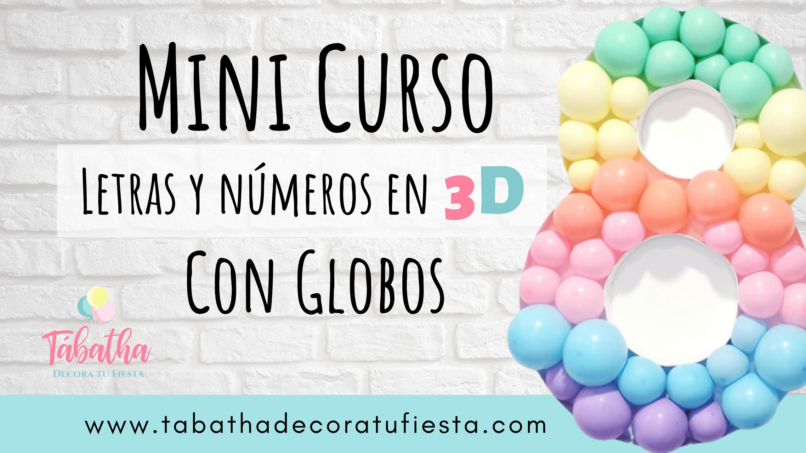 Mini Curso Letras y Números